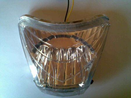 LED-es első lámpa, 48V, BRD-013c