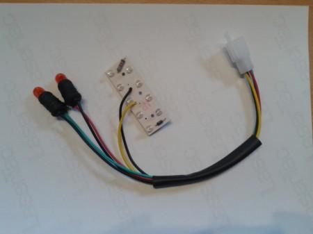 LED sor, 36V, első lámpába irányjelzővel BRD-013