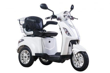 ZTECH-15B Trilux 3 kerekű elektromos moped mágnes fékkel, támogatási utalványra is!