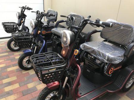 MOB-09 elektromos tricikli, EMMI támogatással is