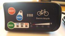 LED-es kormány display 36/48V-os
