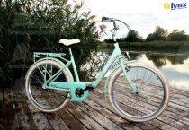 LYNX  LADY CARRIBIAN CITY kerékpár türkiz színben