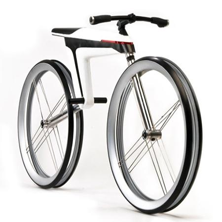 "Bukósisak FF2 White Bike ""L"""