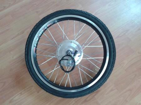 """elektromos kerékpár 24V/250W BLDC motor, 20""""-os kerékben,  Kenda gumival"""