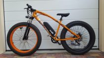 Bird Panther 750W-os elektromos fat bike (tesztkerékpár)Bird Panther