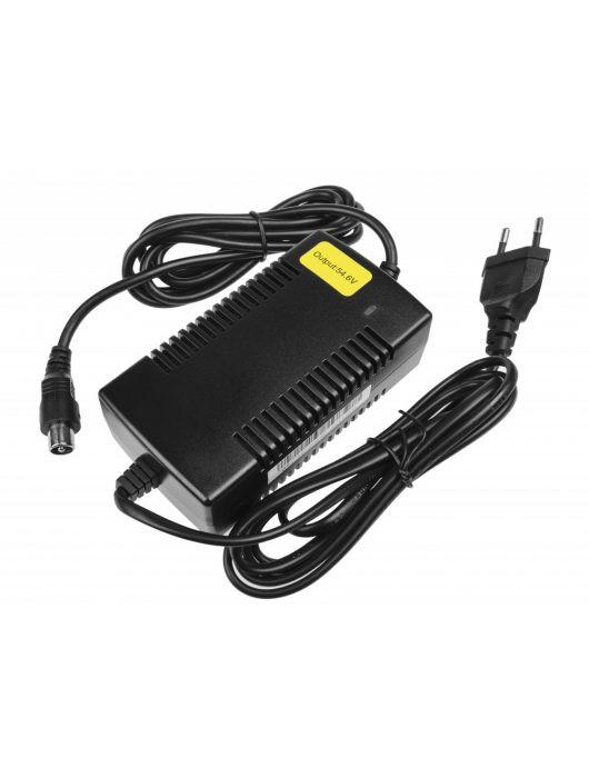 36V-os ólom akkumulátor töltő, kör csatlakozóval